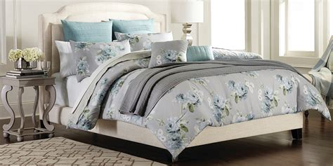 gray floral bedding cannon 7 piece comforter set grey floral home bed