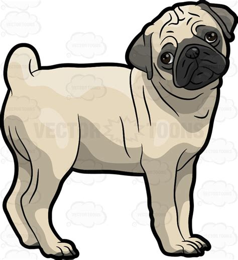 black pug clipart clipart a sad pug