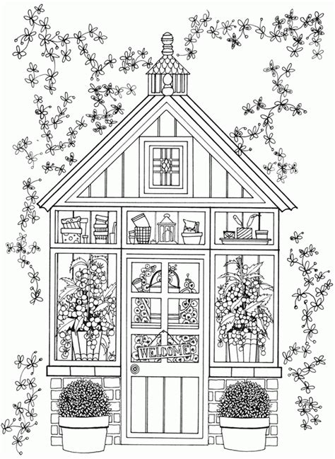 printable coloring pages for adults garden free adult coloring pages landscapes az coloring pages