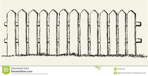 sketch book lumen h 246 lzerner zaun blumenhintergrund mit gras vektor abbildung
