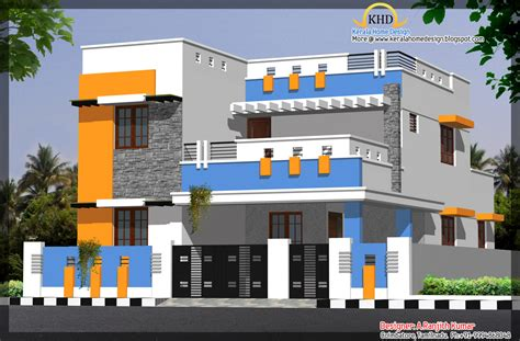 photo gallery house plans elevations of residential buildings in indian photo