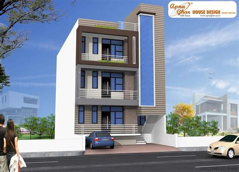 3 floor house design independent floor design 171 apnaghar 171 page 3