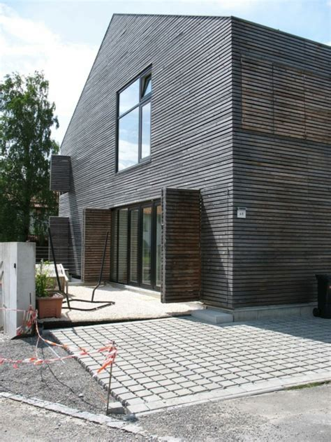 Graue Fassade Weiße Fenster by Graue Fenster Welche Fassade Ein Der Moderne Fassaden Und