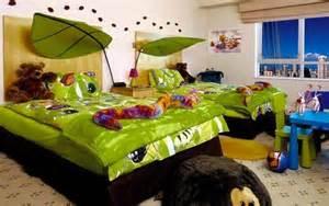 Childrens Bedroom Ideas Jungle Dormitorios Infantiles Decorados Con Verde
