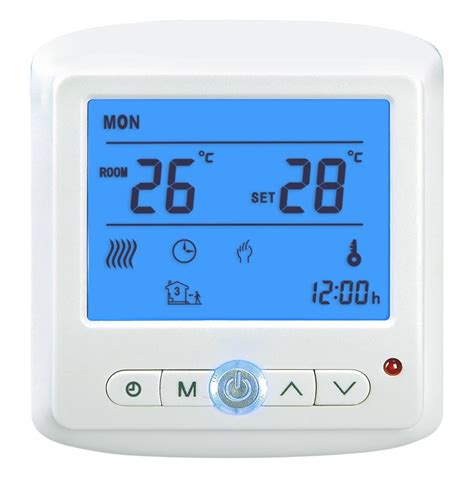 electric radiant floor heating systems parts thermostats