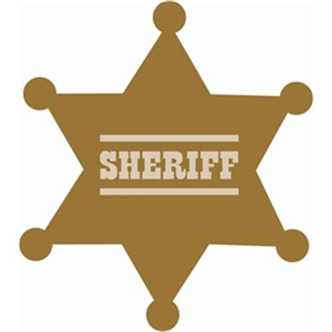 silhouette design store view design 34593 sheriff badge