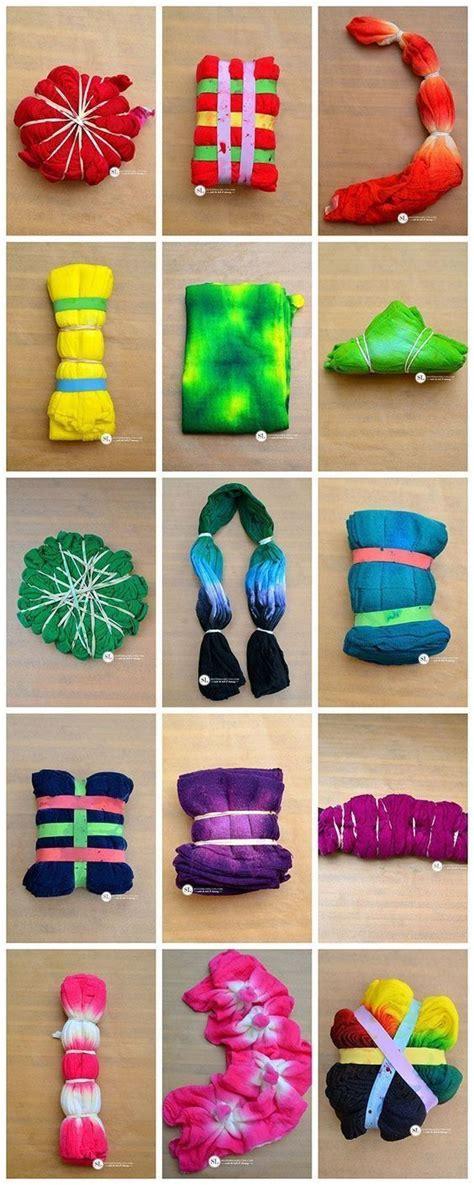 25 best ideas about tie dye folding techniques on