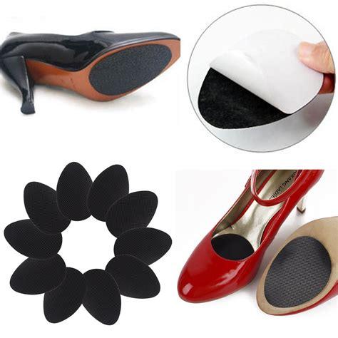 10pc self adhesive anti slip stick shoe grip pads non slip