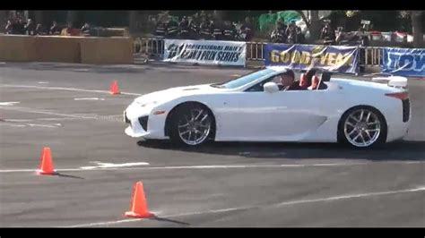 lexus lfa convertible 2013 lexus lfa roadster drift youtube