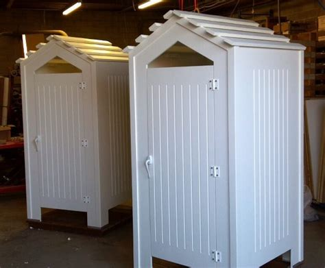Outdoor Water Heater Shed by Outdoor Shower Enclosures Traditional Tub And Pool