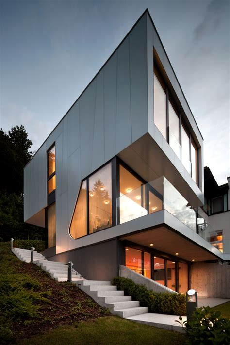 house design architecture austrian home blends lovely lake views with a