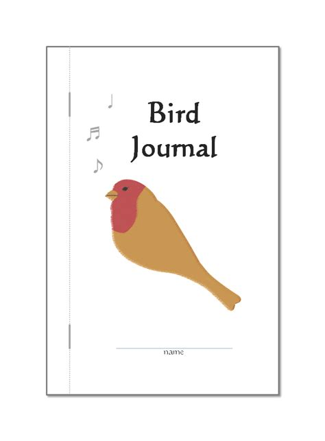 Printable Bird Journal   free bird journal doodles and jots
