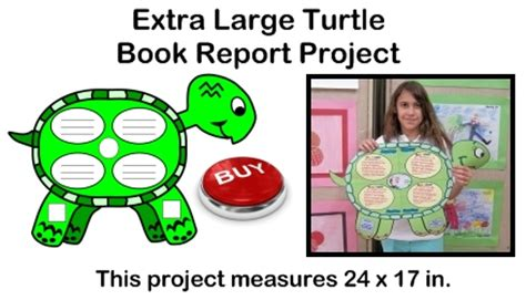 creative book report project ideas turtle book report project templates printable