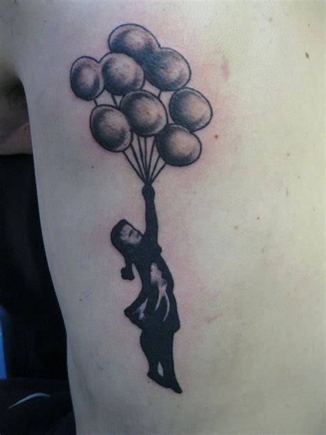 girl with balloon tattoo 50 best balloon tattoos design and ideas