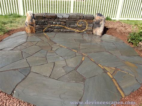 How To Install A Flagstone Patio by Flagstone Paver Faq Escapes