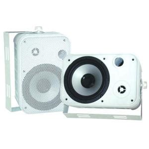 pyle 6 5 in indoor outdoor waterproof speaker pdwr50w