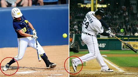 weight transfer baseball swing the anatomy of sierra romero s swing flosoftball