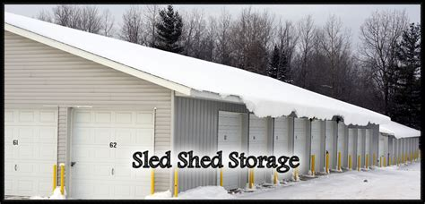 Sled Shed by Sled Shed Storage