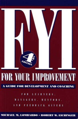 improvement a novel books fyi for your improvement a guide for development and