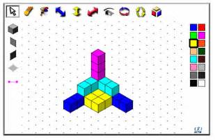 Draw 3d Online Isometric Drawing And 3d Cubes Passy S World Of Mathematics