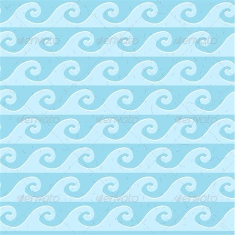 seamless pattern grunge seamless blue grunge pattern of waves graphicriver