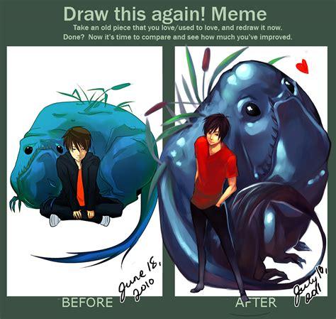 Draw This Again Meme - draw this again meme by thelittlefirefly on deviantart