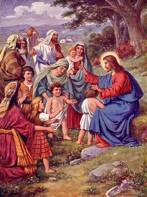 Bilder Lebenslauf Jesus Jesus Christus Jesus Nazareth Lebenslauf Jesus Und Die Kinder