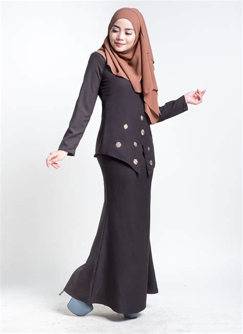 Baju Kurung Hitam Untuk Temuduga baju kebarung estrella black hitam lovelysuri