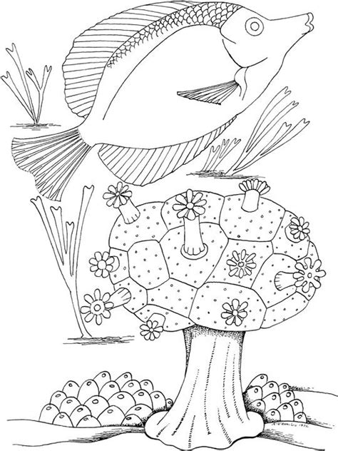 Seascape Coloring Pages free seascape coloring pages