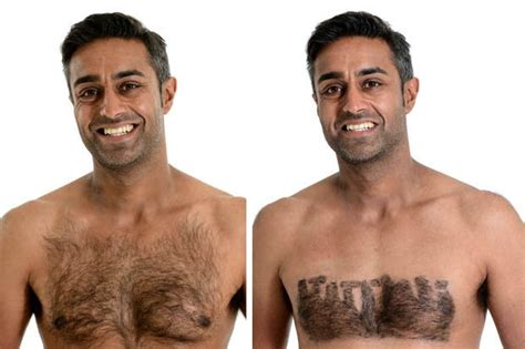 pictures of mens chest hair patterns how to make pubic hair styles and shapes at home new
