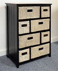 Wicker Baskets For Bathroom Storage Tetbury Storage Unit Bedroom Furniture Direct