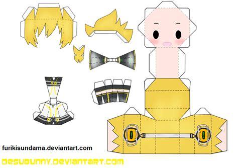 Vocaloid Papercraft - vocaloid papercraft templates papercraft