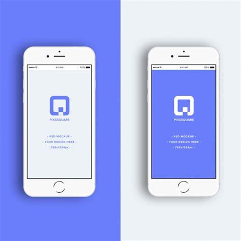 iphone mock  design psd file