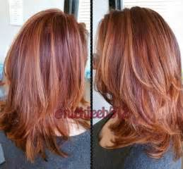 auburn hair color with highlights 50 glamorous auburn hair color ideas