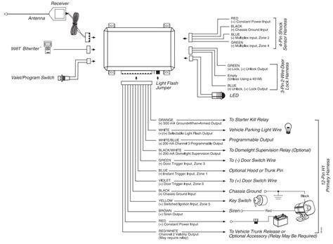 auto command remote starter wiring diagram on