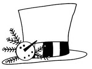 snowman hat template primitive crafts stitchery patterns
