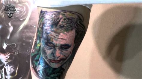 dark knight tattoos joker the