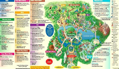 map of animal kingdom disney animal kingdom map my