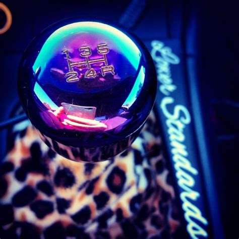 Custom Shift Knobs Jdm by Neochrome Shift Knob And Custom Leopard Fabric On The