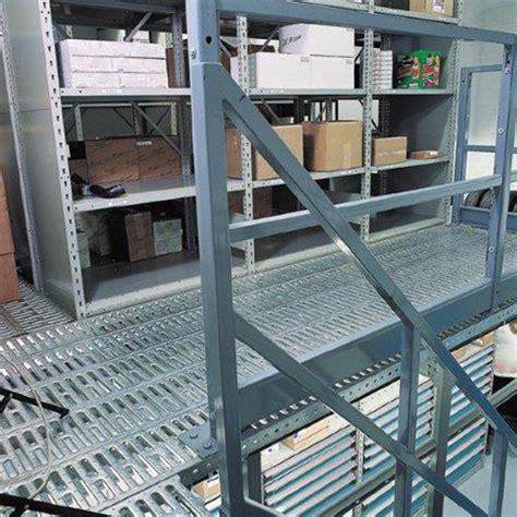 mezzanine deck material handling storage systems