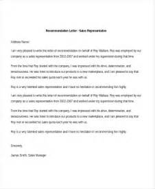 School Letter Of Recommendation Sle From Employer Sales Recommendation Letter Writing