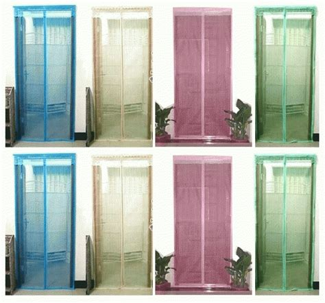 Tirai Nyamuk Tirai Pintu Magnetik jual tirai pintu magnet anti nyamuk murah magnetic curtain