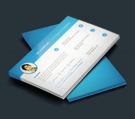 template cv tku card free resume and business card design graphicsfuel