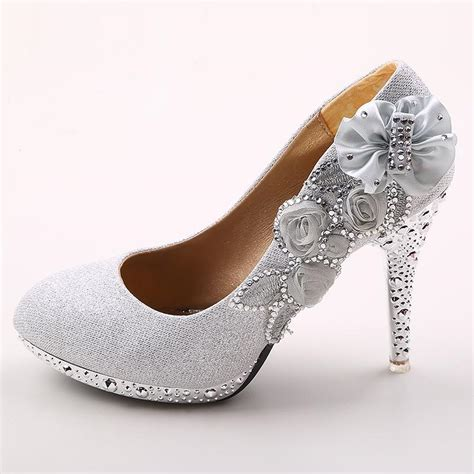 2 Inch Wedding Shoes by 4 Inch High Heels Wedding Shoes Formal Dress S