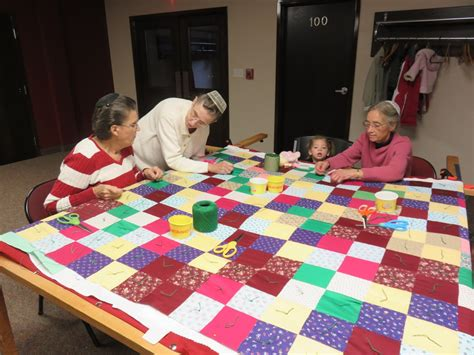 tauny hosts quilting bee to tie 30th anniversary signature