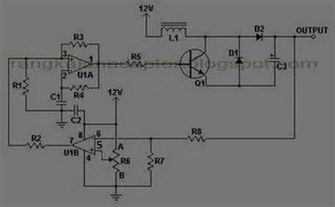 elektronika 25 skema rangkaian elektronika converter 12 to 24vdc koleksi skema rangkaian artikel