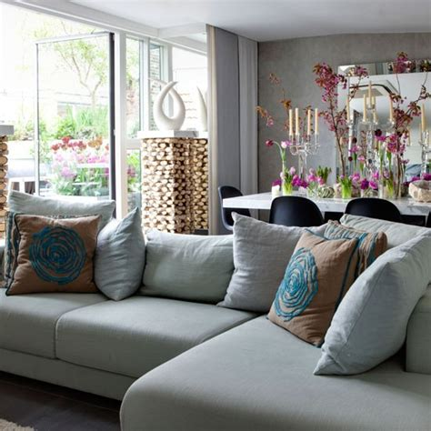Corner Sofa Living Room Ideas by Living Room With Corner Sofa Cosy Living Room Design