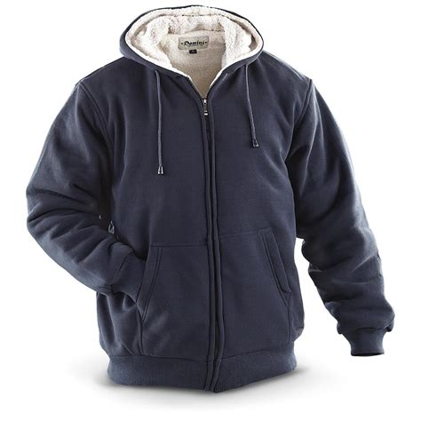 fleece lining hoodie jacket domini fleece lined hooded jacket 233428 sweatshirts