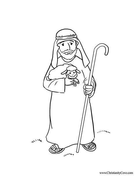 coloring pages jesus the good shepherd bible printables coloring pages for sunday school