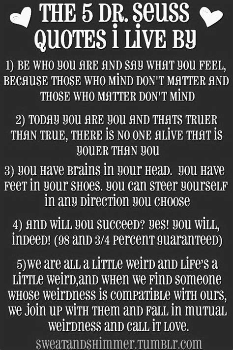 dr seuss hair quotes the 5 dr seuss quotes i live by pictures photos and